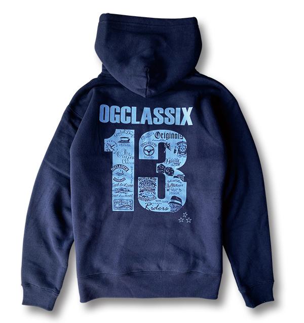 【OG CLASSIX/オージークラシックス】OG THIRTEEN 10oz. PULL HOOD 裏起毛【プルフード】【パーカー】【裏起毛】【10オンス】