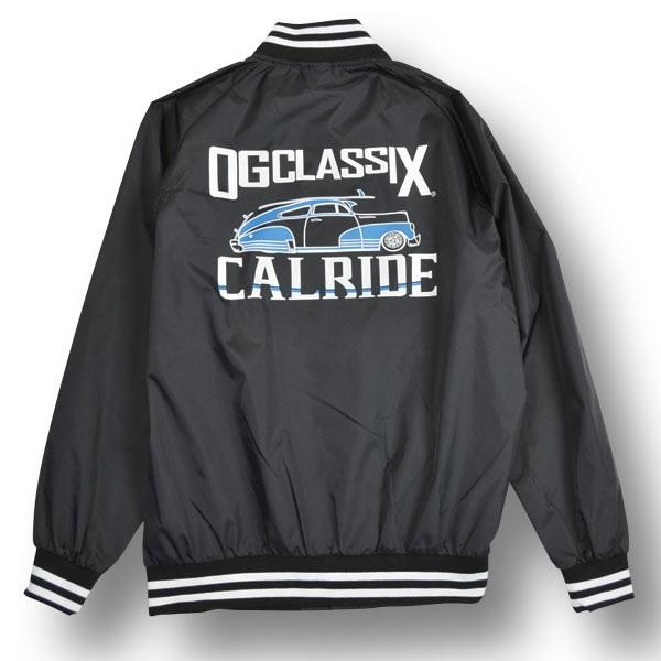 【OG CLASSIX/オージークラシックス】【CALRIDE/キャルライド】TOWN RIDE STADIUM JACKET【スタジャン】【アウター】【薄手】
