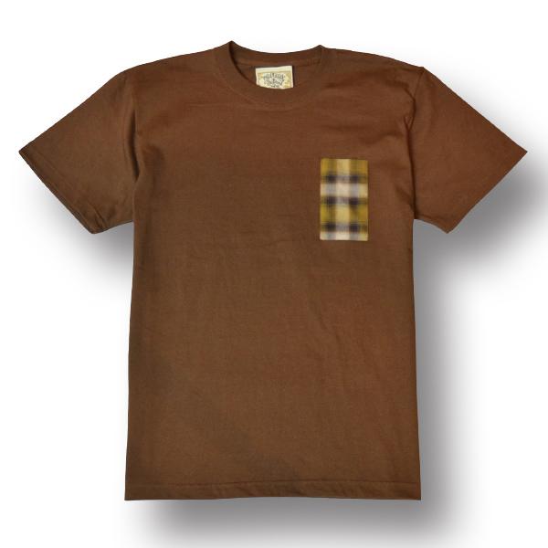 3COLORS【OG CLASSIX/オージークラシックス】【CALRIDE/キャルライド】GLASSES PKT TEE【Tシャツ】【5.6oz】【ポケット】【チェック】