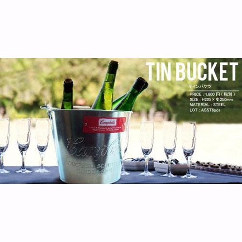 【IMPORT GOODS】Tin-bucket【ティンバスケット】【バケツ】