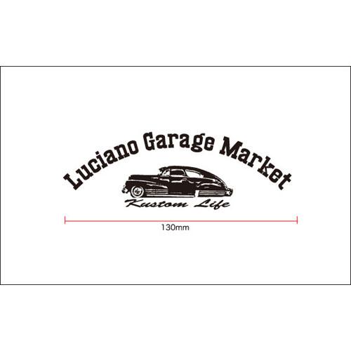 【メール便可】【Luciano Garage Market】LGM BOM STICKER(M) 【ステッカー】