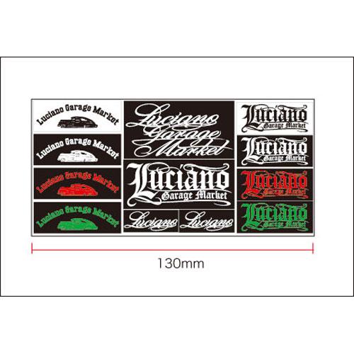 【メール便可】【Luciano Garage Market】LGM MOBILE STICKER(4)【ステッカー】