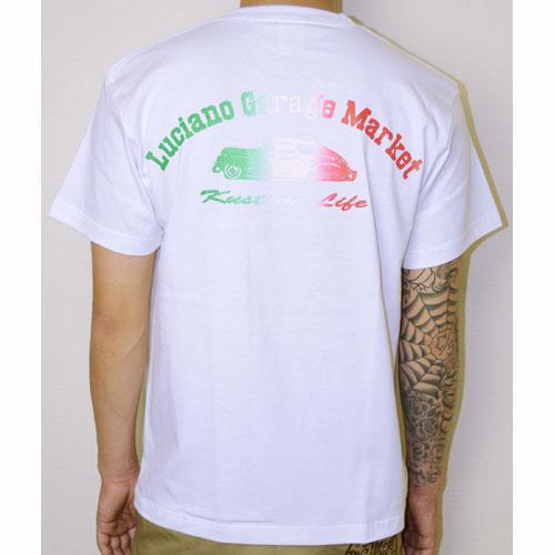 【Luciano Garage Market/ルチアーノガレージマーケット】THE BOMB RAINBOW TEE【半袖Tシャツ】【フリートライン】【ボム】