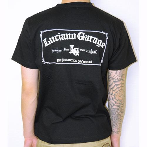 【Luciano Garage Market/ルチアーノガレージマーケット】OLD-E TEE【半袖Tシャツ】【ロゴ】