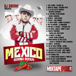 【CD】Dj Swerve -Mexico Regional- 【MEXICO】【メキシコ】