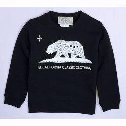 【OG CLASSIX/オージークラシックス】EL CALIFORNIA KID'S SWEAT【キッズ】【スウェット】【トレーナー】【カリフォルニア】【ベア】【110cm/130cm/150cm】