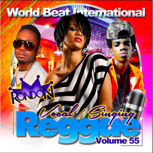 【CD】DJ RONDON-VOCAL/SINGERS VOL. 55-【REGGAE】【レゲエ】【ラバーズ】