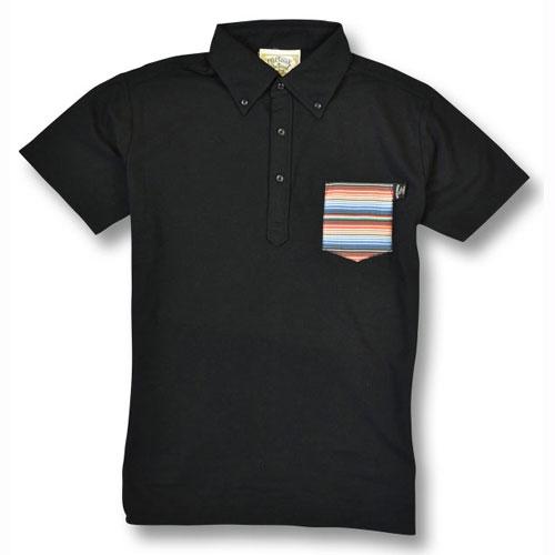 【OG CLASSIX/オージークラシックス】RAINBOW SERAPE POLO SHIRTS【半袖ポロシャツ】【ポケット付き】【サラペ】【ボーダー】