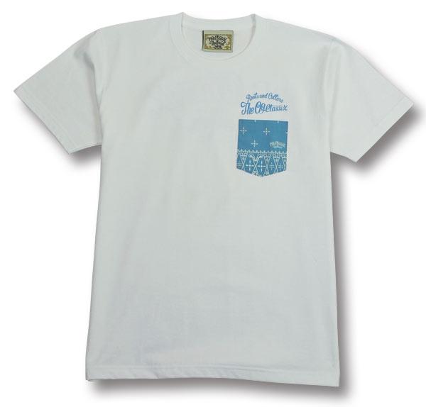 【OG CLASSIX/オージークラシックス】WORLD CORPORATE CROSS POCKET TEE【Tシャツ】【クロス】