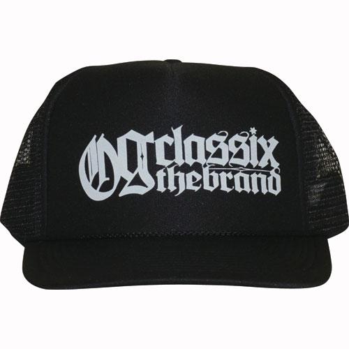 【OG CLASSIX/オージークラシックス】OFFICIAL CROSS MESH CAP【メッシュキャップ】【ロゴ】【ツバ裏】