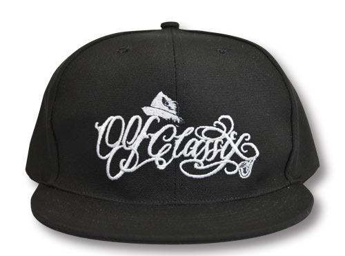 【OG CLASSIX/オージークラシックス】HIGH SCRIPT SNAP BACK CAP【スナップバックキャップ】【帽子】