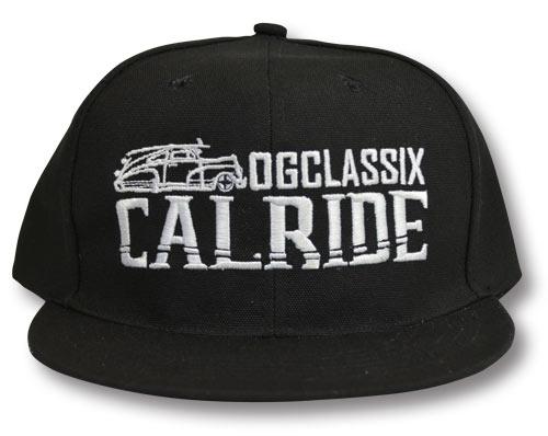 【OG CLASSIX/オージークラシックス】CALRIDE SNAP BACK CAP【スナップバックキャップ】【帽子】