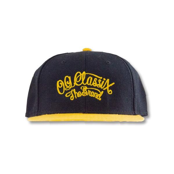 3colors【OG CLASSIX/オージークラシックス】CORPORATE SNAP BACK CAP【スナップバックキャップ】【帽子】