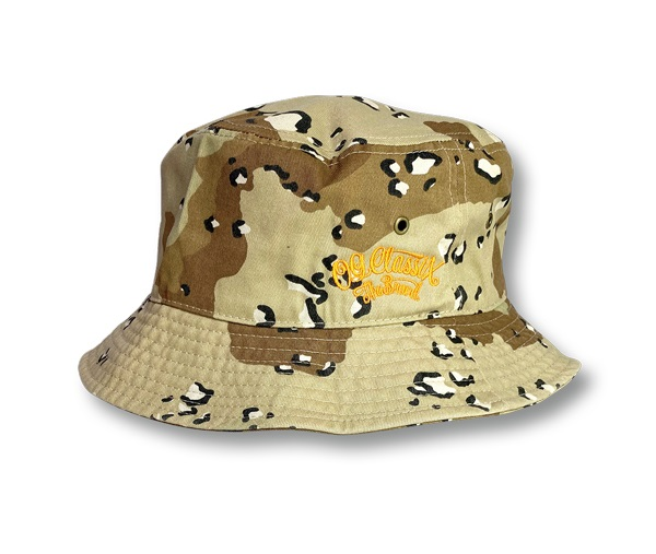 3colors【大人気】【OG CLASSIX/オージークラシックス】BUCKET HAT【バケットハット】【NEWHATTAN】【バケハ】【刺繍】【ブラック】【ベージュ】【カモ】