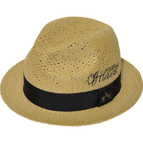 【OG CLASSIX/オージークラシックス】EL CLASSICO STRAW HAT【ストローハット】【帽子】【ロゴ】【パイプ】