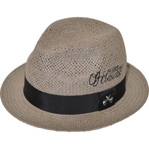 【OG CLASSIX/オージークラシックス】 EL CLASSICO STRAW HAT【ストローハット】【帽子】【ロゴ】【パイプ】