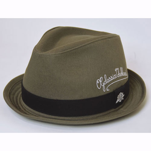 【OG CLASSIX/オージークラシックス】PEN SCRIPT COTTON HAT【ハット】【コットン】