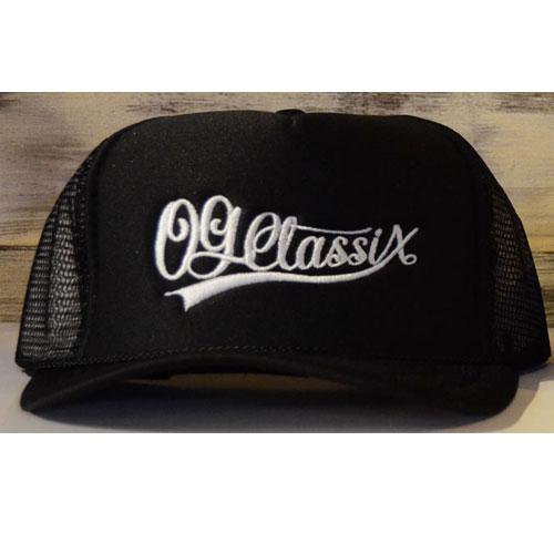 【KIDS】【OG CLASSIX/オージークラシックス】BASEBALL MESH CAP【メッシュキャップ】【ロゴ】【刺繍】【ツバ裏】】【キッズ】【ジュニア】【子供】