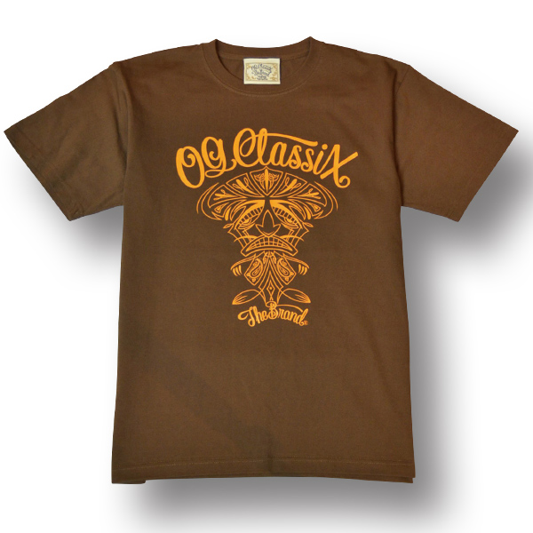 【KIDS】【OG CLASSIX/オージークラシックス】TIKI CLASSIX KIDS TEE【Tシャツ】【5.6oz】【キッズ】【半袖】