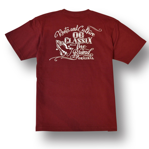 【KIDS】【OG CLASSIX/オージークラシックス】OG HAND KIDS TEE【Tシャツ】【5.6oz】【キッズ】【半袖】