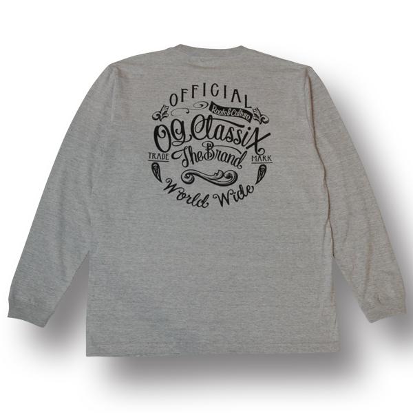 【OG CLASSIX/オージークラシックス】WORLD SIGN LONG SLEEVE【Tシャツ】【長袖】