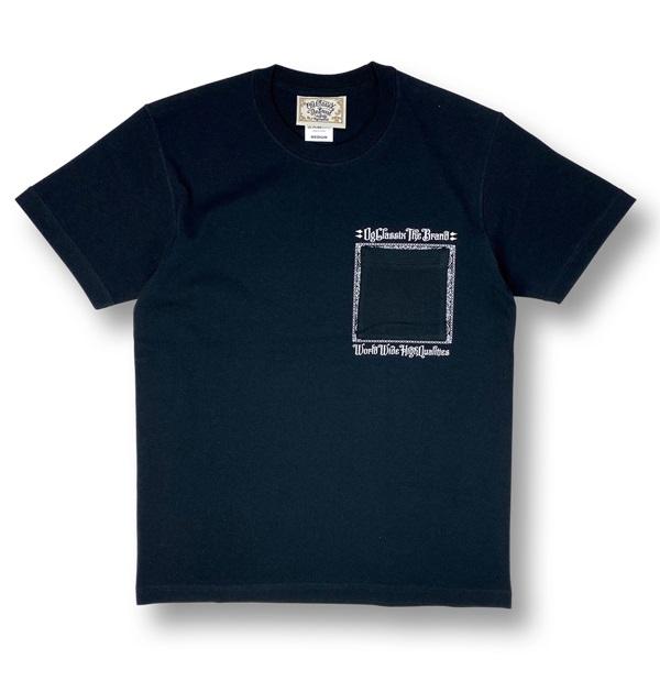 【KIDS】【OG CLASSIX/オージークラシックス】BOX POCKET KIDS TEE【Tシャツ】【5.6oz】【キッズ】【半袖】