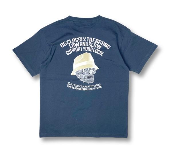 【KIDS】2colors【OG CLASSIX/オージークラシックス】PAISLEY SKULL KIDS TEE【Tシャツ】【5.6oz】【キッズ】【半袖】