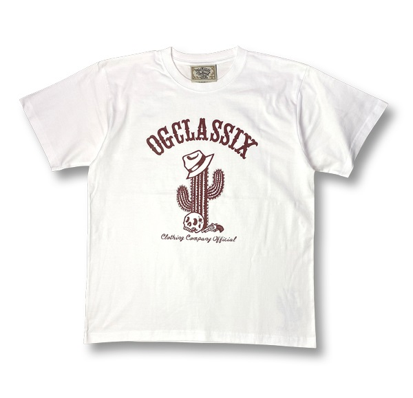 【KIDS】3colors【OG CLASSIX/オージークラシックス】CACTUS KIDS TEE【Tシャツ】【5.6oz】【キッズ】【半袖】