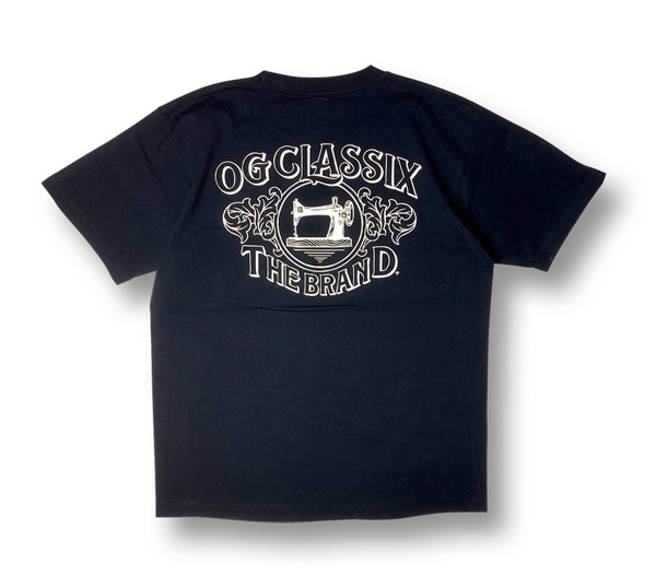 【KIDS】【OG CLASSIX/オージークラシックス】OLD MACHINE KIDS TEE【Tシャツ】【5.6oz】【キッズ】【半袖】