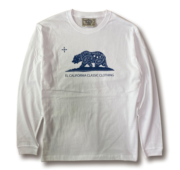 【KIDS】2colors【OG CLASSIX/オージークラシックス】EL CARIFORNIA KIDS LONG SLEEVE【Tシャツ】【長袖】【キッズ】