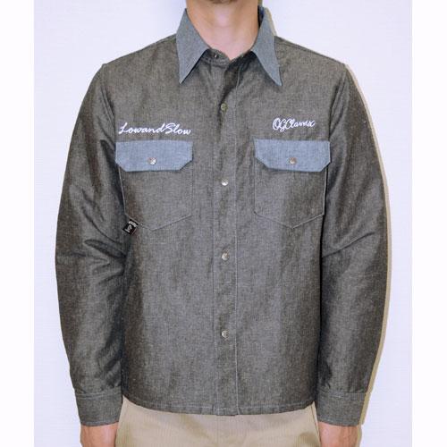 【OG CLASSIX/オージークラシックス】DUNGAREE WORK SHIRTS【長袖ボタンシャツ】【ワークシャツ】