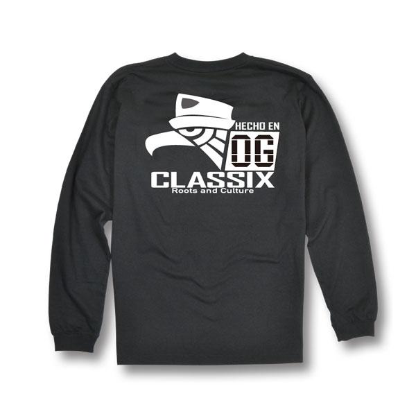 【OG CLASSIX/オージークラシックス】HECHO EN OG LONG SLEEVE【Tシャツ】【長袖】