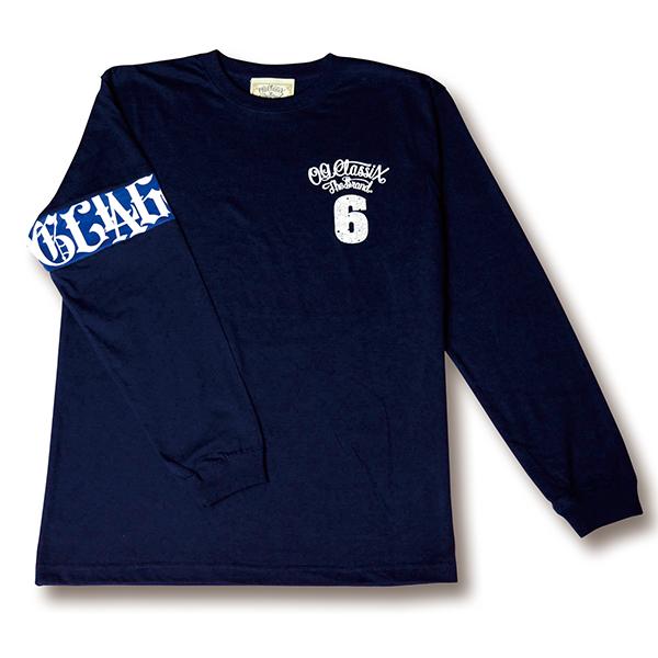 【OG CLASSIX/オージークラシックス】LOGO L/S TEE【Tシャツ】【長袖】