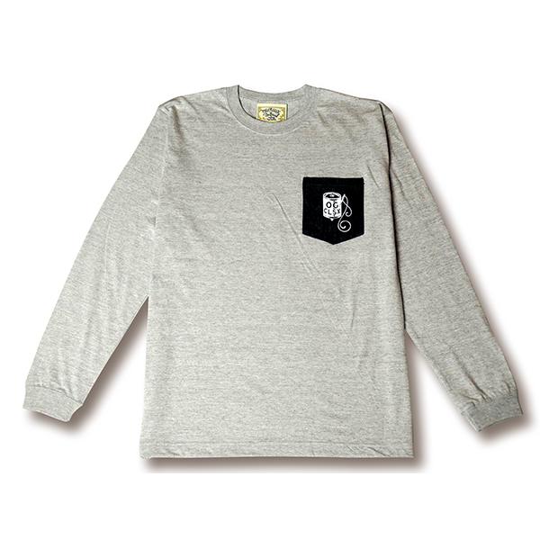 【OG CLASSIX/オージークラシックス】OKAYAMA-DENIM POCKET L/S TEE【Tシャツ】【長袖】【ポケット】【デニム】