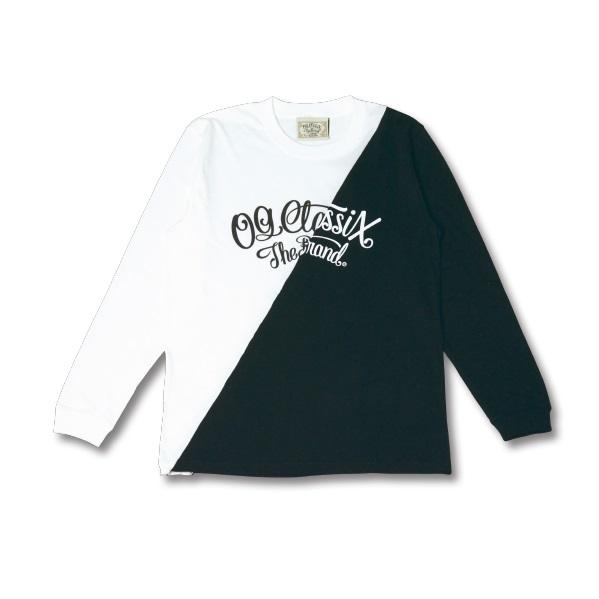 【OG CLASSIX/オージークラシックス】SLANT 5.6oz. LONG SLEEVE【Tシャツ】【長袖】【5.6oz.】