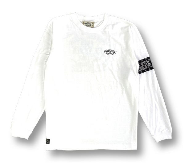 【OG CLASSIX/オージークラシックス】ARM LINE OG HAND 5.6oz. LONG SLEEVE【Tシャツ】【長袖】【5.6oz.】