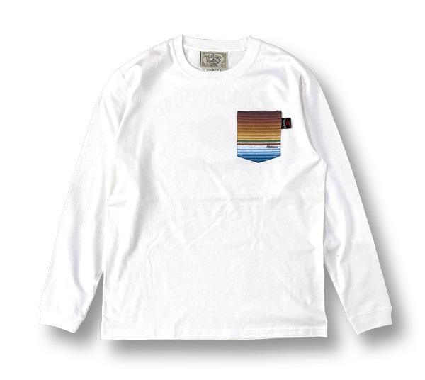 【OG CLASSIX/オージークラシックス】SERAPE POCKET 7.1oz. LONG SLEEVE【Tシャツ】【長袖】【7.1oz.】【サラペ】【ポケット】