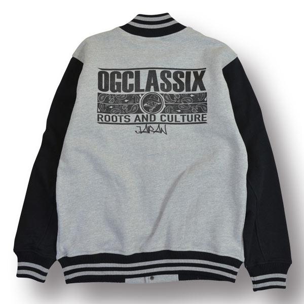 【OG CLASSIX/オージークラシックス】EAGLE SWEAT STADIUM JACKET【スタジャン】【スウェット】【裏起毛】【12オンス】