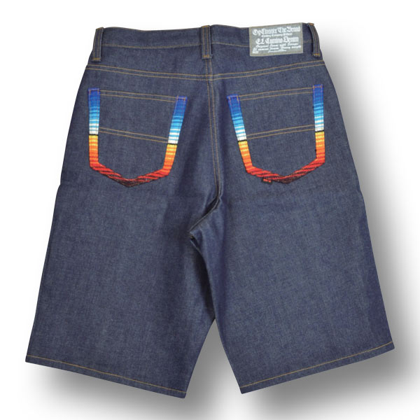 【OG CLASSIX/オージークラシックス】EL CAMINO DENIM RAINBOW SHORT PANTS【ショートデニムパンツ】【サラペ】