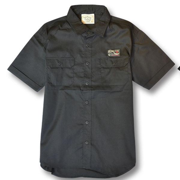【OG CLASSIX/オージークラシックス】W POCKET WORK SHIRT【ワークシャツ】【ポケット】【半袖】