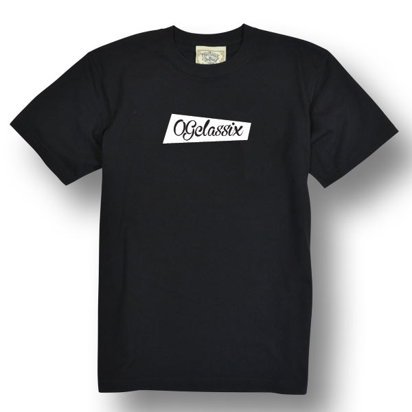 【OG CLASSIX/オージークラシックス】BOWTIE SCRIPT TEE【Tシャツ】【6.2oz】【スクリプト】