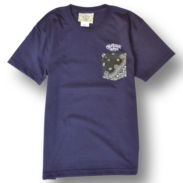 【OG CLASSIX/オージークラシックス】PAISLEY POCKET NO.6 TEE【Tシャツ】【7.1oz】【ペイズリー】【ポケット】