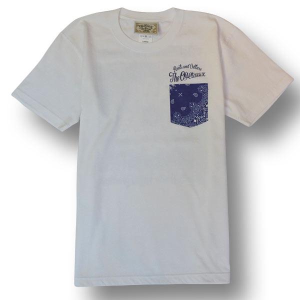 【OG CLASSIX/オージークラシックス】PAISLEY POCKET BANDANA TEE【Tシャツ】【7.1oz】【ペイズリー】【ポケット】【バンダナ】