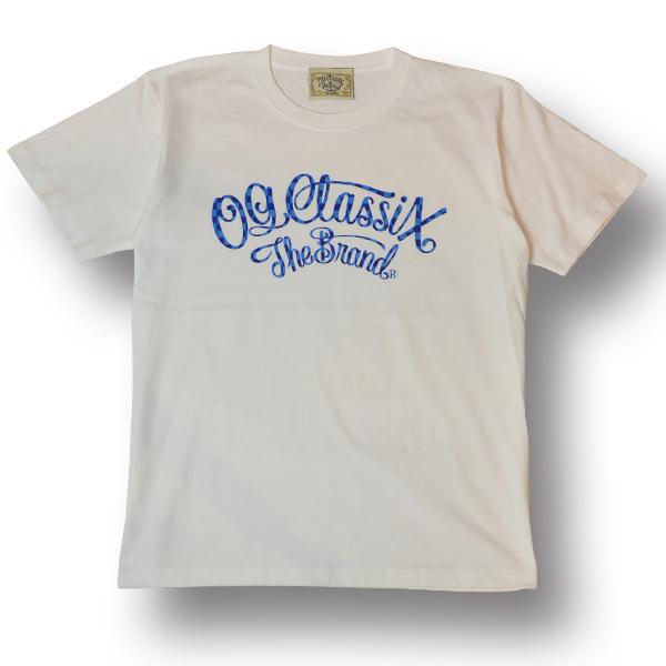 【OG CLASSIX/オージークラシックス】CHECK FLAG COPORATE TEE【Tシャツ】【6.2oz】【チェックフラッグ】