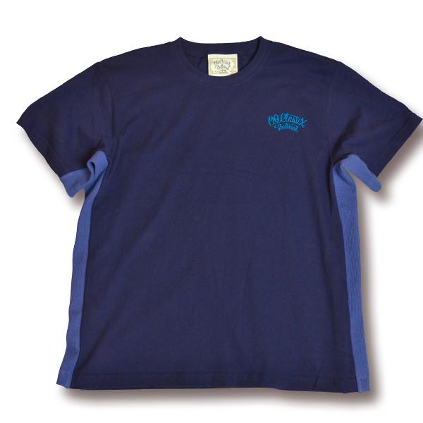 【OG CLASSIX/オージークラシックス】SIDE LINE WAFFLE TEE【Tシャツ】【6.2oz】【ワッフル】【ライン】【シンプル】