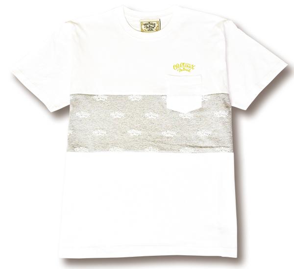 【OG CLASSIX/オージークラシックス】OG PANEL POCKET TEE【Tシャツ】【7.1oz】【ペイズリー】【ポケット】【パネル】