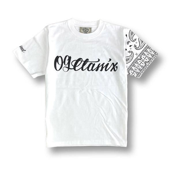 【OG CLASSIX/オージークラシックス】LIFE LINE PAISLEY 6.2oz.TEE【Tシャツ】【6.2oz】【ペイズリー】