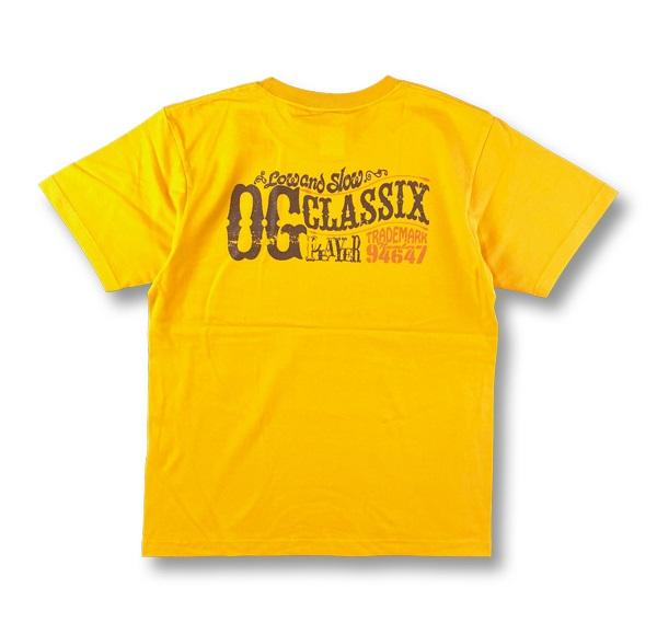 【OG CLASSIX/オージークラシックス】CLASSIX PLAYERS 6.2oz.TEE【Tシャツ】【6.2oz】