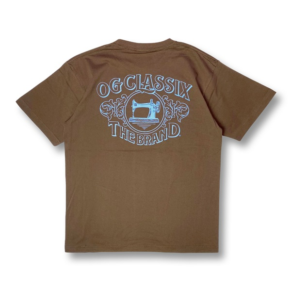 【OG CLASSIX/オージークラシックス】OLD MACHINE 6.2oz.TEE【Tシャツ】【6.2oz】