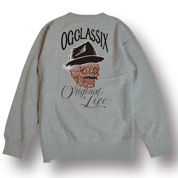 【OG CLASSIX/オージークラシックス】ORIGINAL LIFE CREW SWEAT【スウェット】【トレーナー】【クルーネック】【裏起毛】【12オンス】